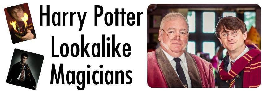 Harry Potter Lookalike Magicians